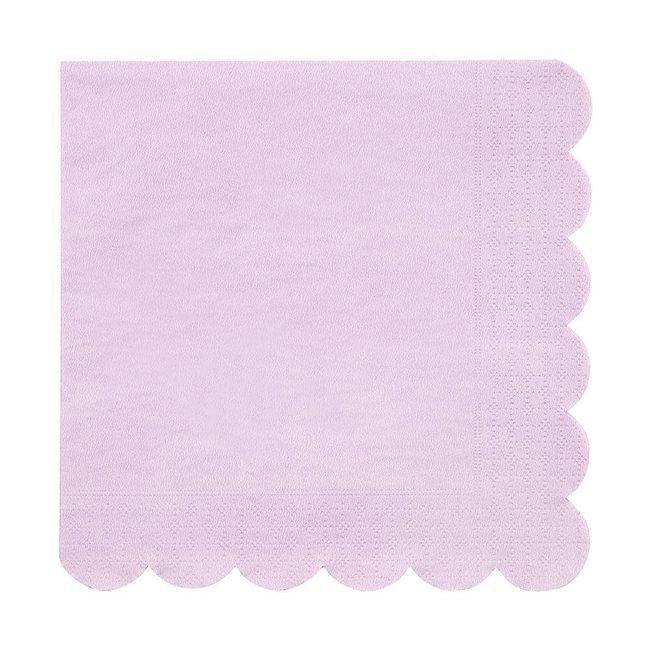 Lilac Napkins Small