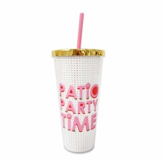Patio Party Tumbler 24oz