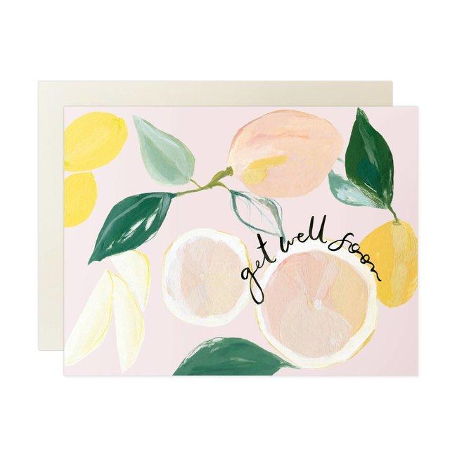 Our Heiday Citrus Get Well Soon Card