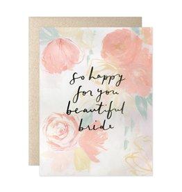 Our Heiday Heiday Beautiful Bride Card