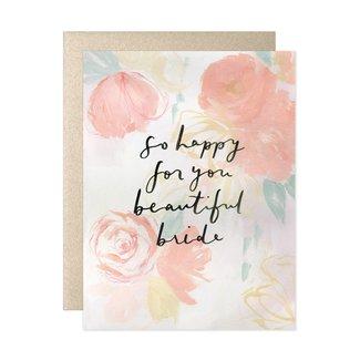 Heiday Beautiful Bride Card