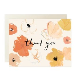 Our Heiday Poppies Thank You Card