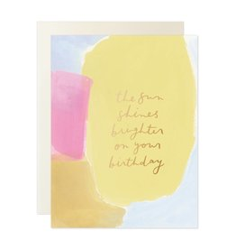 Our Heiday Sun Shines Brighter Card