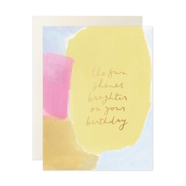 Sun Shines Brighter Card