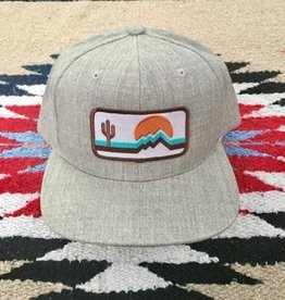 iconic arizona Retro Zona Classic HEATHER/WHITE hat