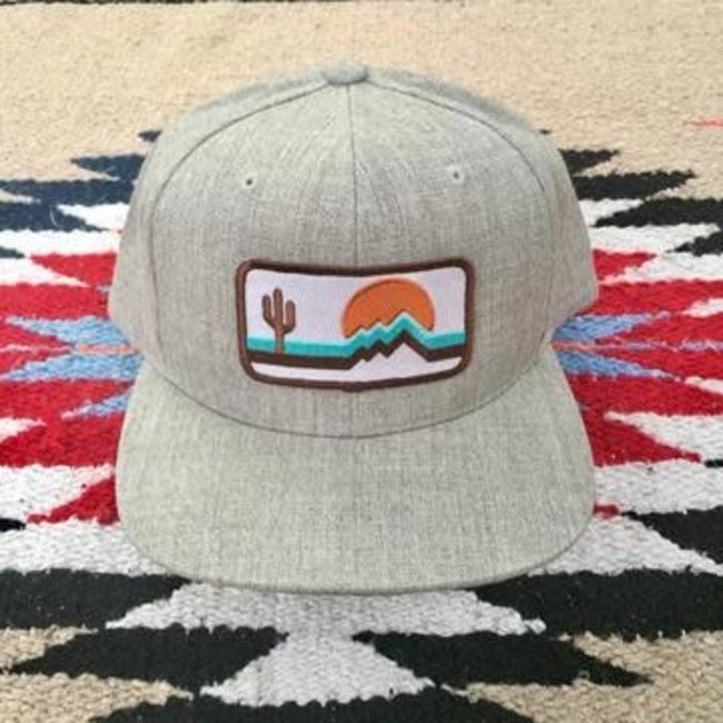 Retro Zona Classic HEATHER/WHITE hat
