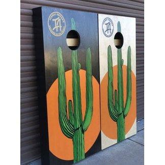 Iconic Saguaro Cornhole