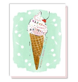 Driscoll Design Ice Cream Birthday Card