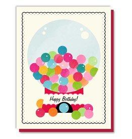 Driscolla Design Gumballs Birthday Card