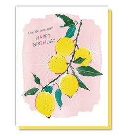 Driscolla Design Lemons Birthday card