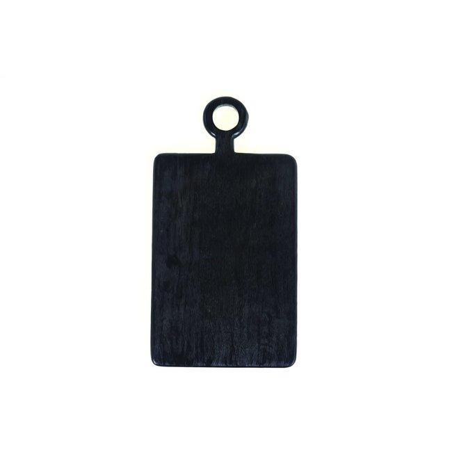 Black Mango Wood Mini Board Rect.