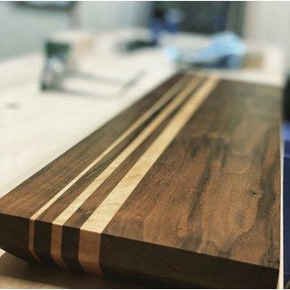 Walnut/Maple Charcuterie Board
