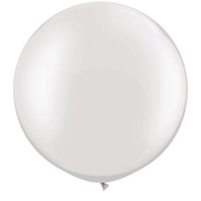 "30"" Qualatex Pearl White"