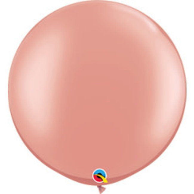 """30"""" Metallic Rose Gold Balloon"""
