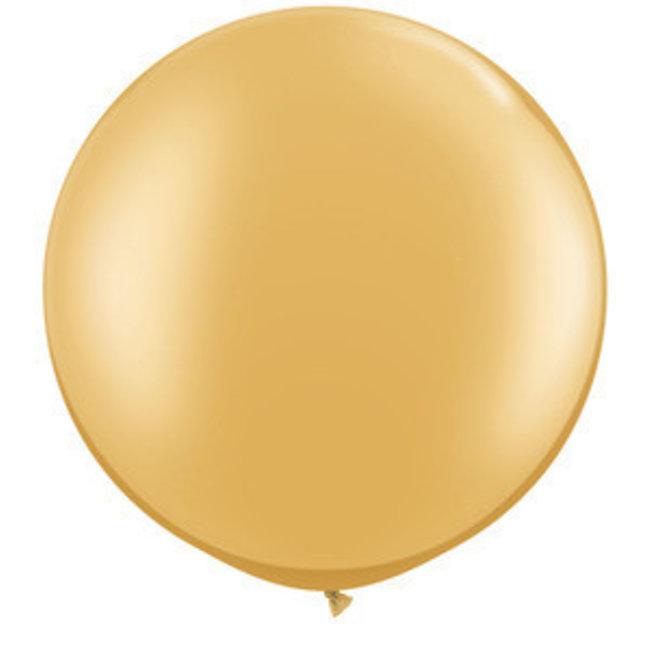 "36"" Qualatex Metallic Gold"