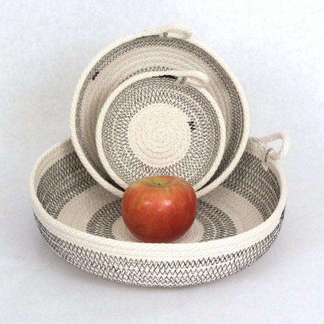 Large Color Block Basket