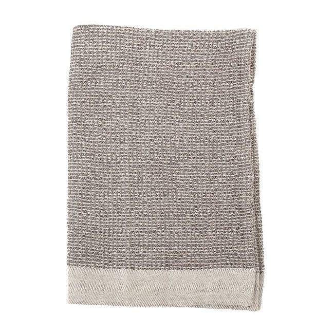 S/2 Grey Texture Towel