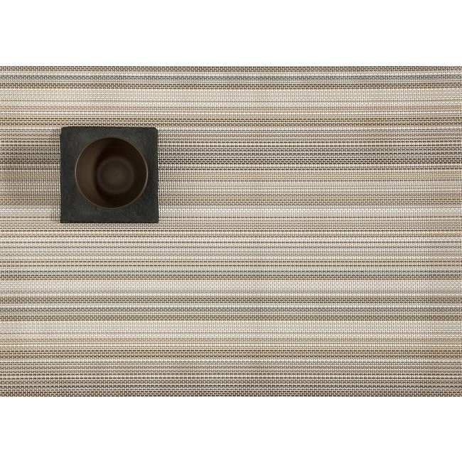 Multi Stripe Champagne Placemat