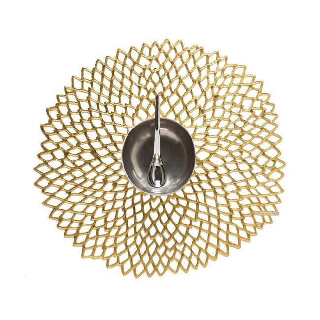 Pressed Dahlia Placemat GOLD