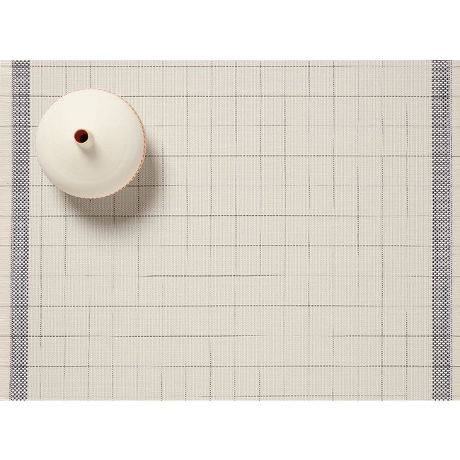 Selvedge Placemat Natural/Blue