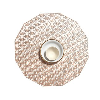Kaleidoscope Placemat Pink Champagne