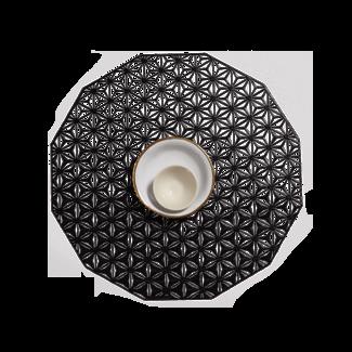 Kaleidoscope Placemat Black