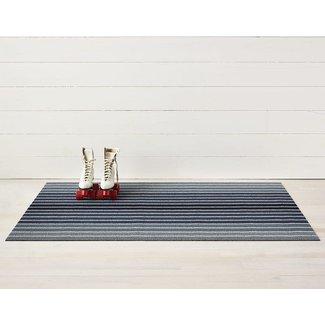 block stripe doormat denim