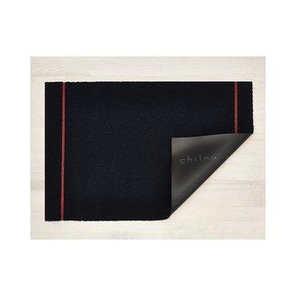 Simple Stripe Doormat Navy/Coral
