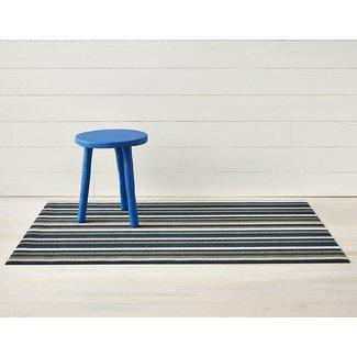 Even Stripe Doormat-Marine