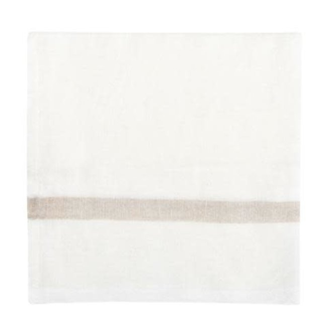 Laundered Natural/White Stripe Nakin