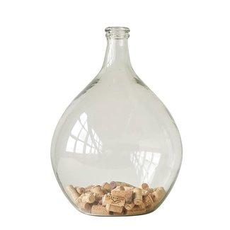 "12"" Rnd x 18-1/2""H Glass Bottle"