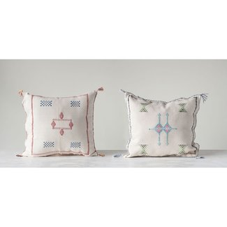 "Cactus Silk 18"" Sq. Pillow"