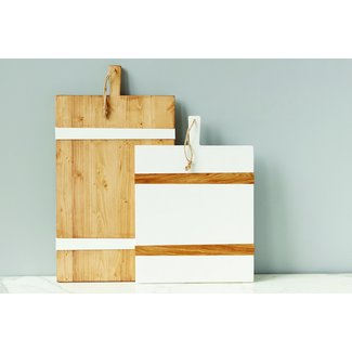 White Mod Rectangular Board MD