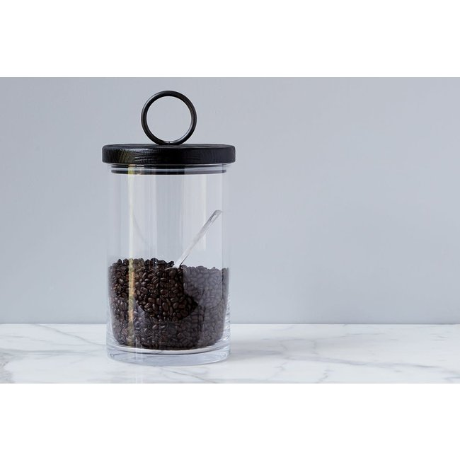 Barcelona Iron Top Canister Large