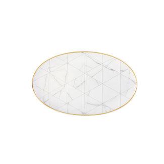 Carrara Oval Platter Small