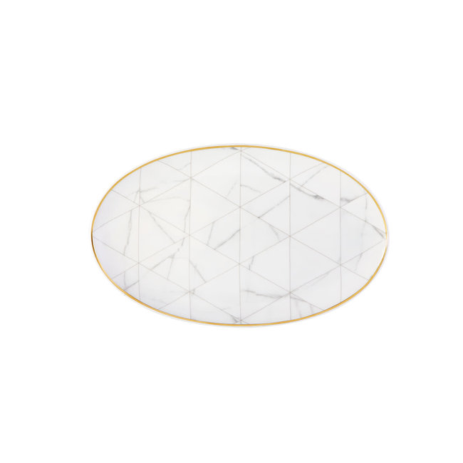 Carrara Oval Platter Small