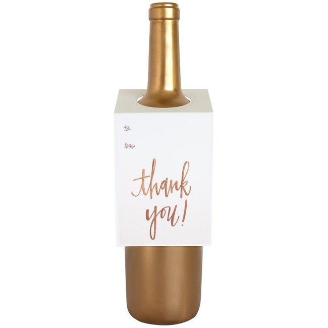 Thank You Wine Tag