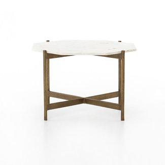 Adair Bunching Table- Raw Brass