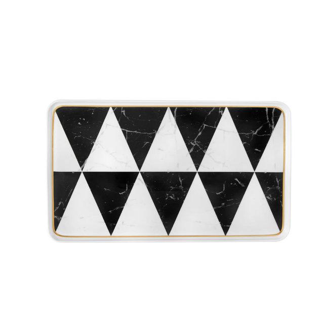 Carrara Sm Rectangular Platter