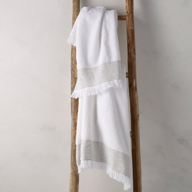 Amagansett Towel Bath White