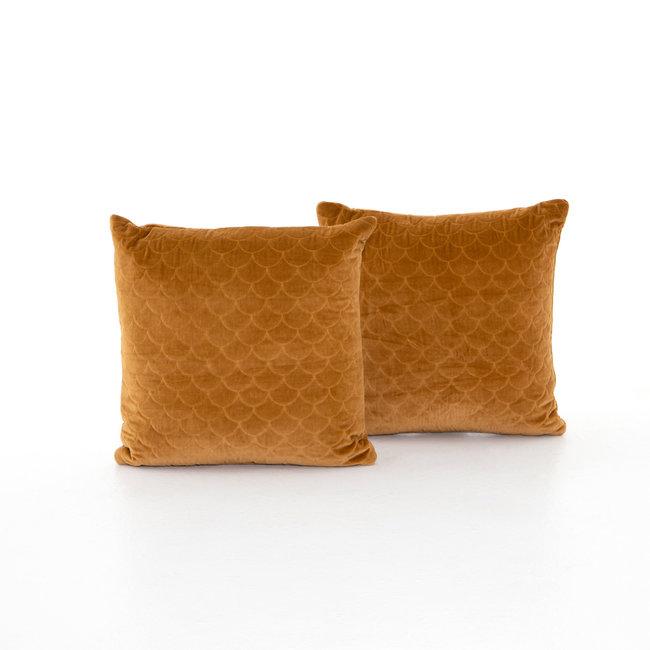 """Bly Velvet Pillow 20""""- Marigold"""