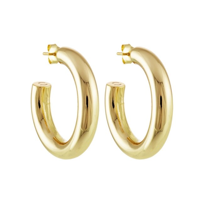 """1"""" Perfect Hoops 14K"""