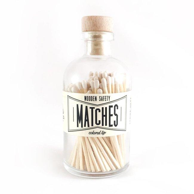 Vintage Apothecary Matches- White
