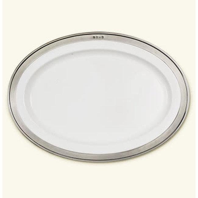 Match Convivio Oval Serving Platter Med