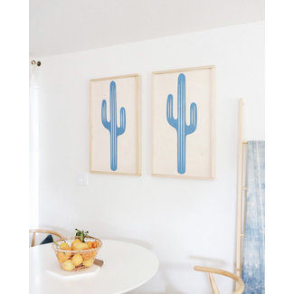 Saguaro Wooden Art
