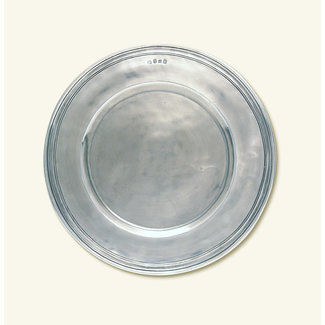 Match Scribed Rim Charger Large