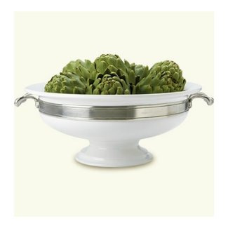 Match Convivio Round Centerpiece with Handles