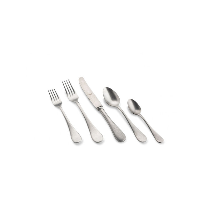 Michelangelo Vintage 5pc. Flatware Setting