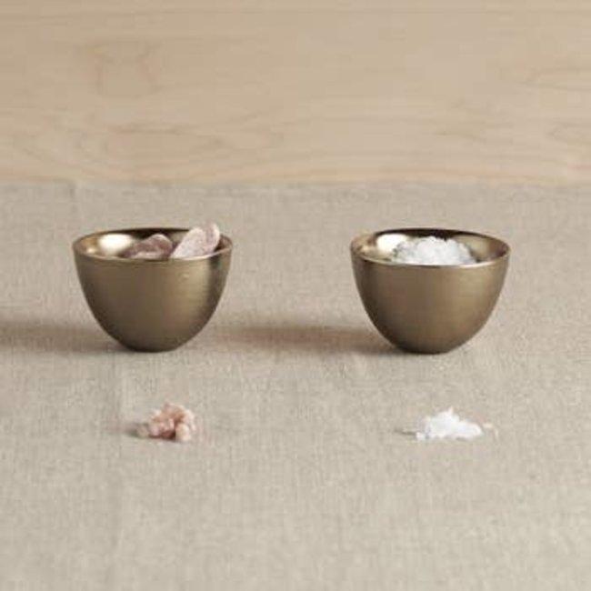 Antique Brass Pinch Bowl