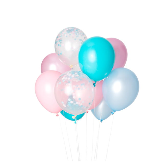 Cotton Candy Classic Balloons